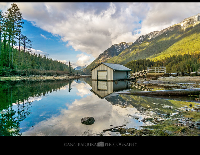 Afternoon at Buntzen Lake in Anmore, BC, Canada