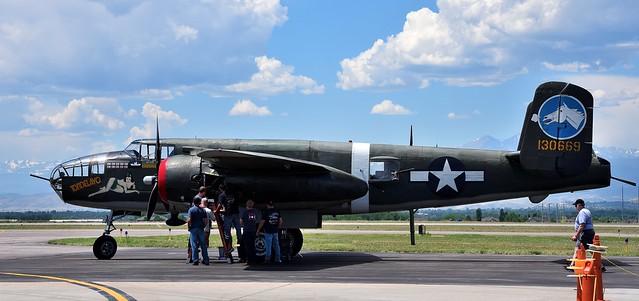 North American B-25 Mitchell 130669 Tondelayo N3476G 44-28932 USAF or USAAF