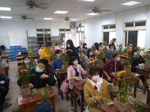 20210204均質化年節花禮製作研習