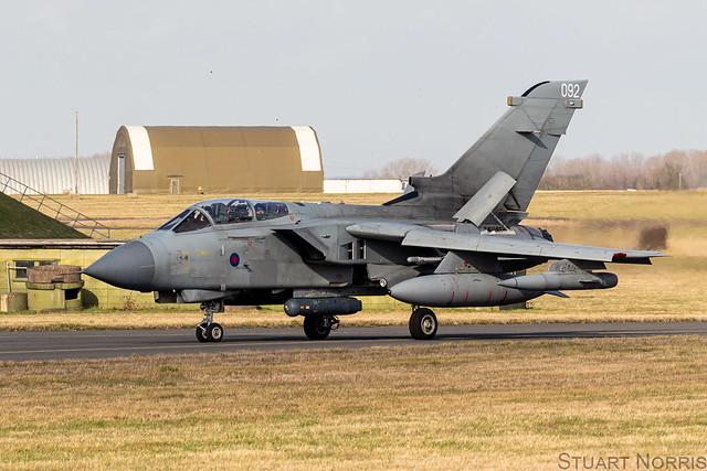 Tornado GR4 ZD744 / 092 - RAF Marham