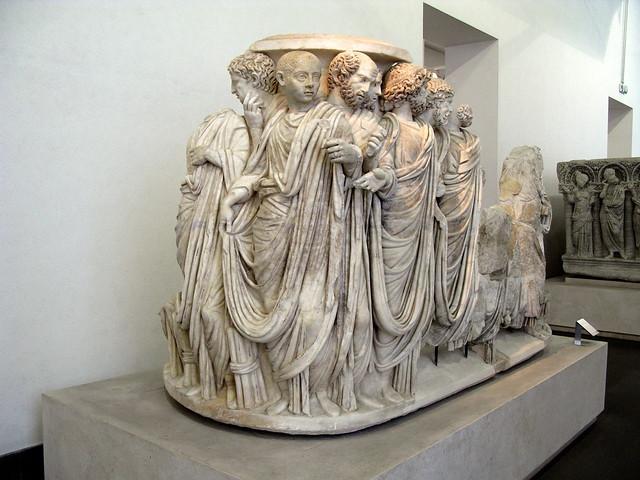 ROMA - PALACIO MASSIMO - GRUPO ESCULTORICO