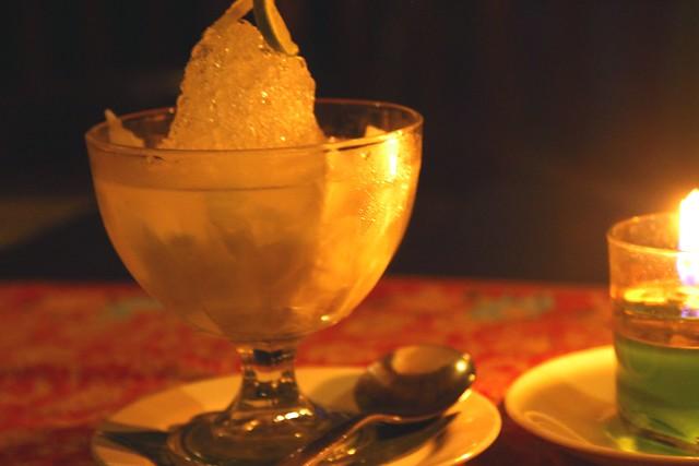Candle-light Dessert