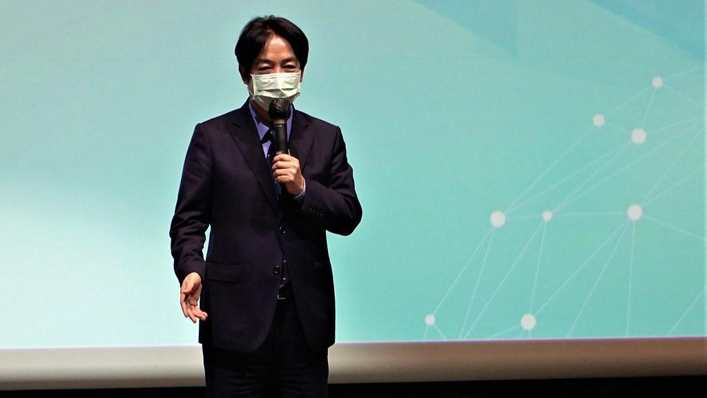 副總統賴清德表示,台灣不能迴避2050碳中和,須提出新的氣候治理路徑。孫文臨攝