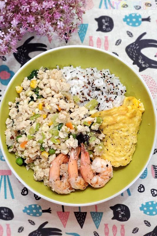 艾波廚房│中部唯一以豆腐飯取代澱粉的生酮減醣餐盒!誰說健康餐只能水煮,健身餐也可以很好吃~ @強生與小吠的Hyper人蔘~