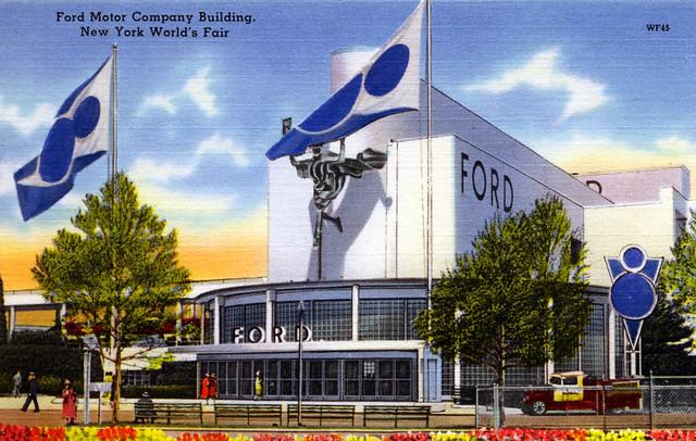 Ford Motor Company Building New York World's Fair 1939:40 NY