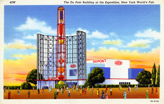 DuPont Building at the Exposition New York World's Fair NY