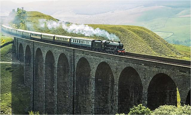 45596. Arten Gill Viaduct 1990.