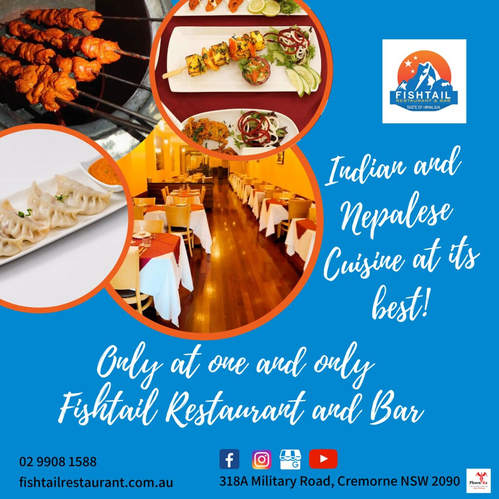 Indian and Nepalese food in Cremorne