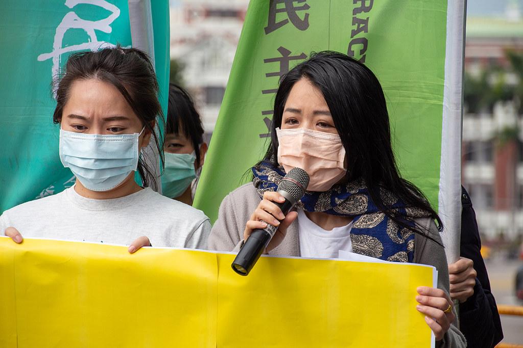綠黨秘書長張竹芩表示,全國廢核行動平台將舉辦福島十年系列活動。照片提供:地球公民基金會