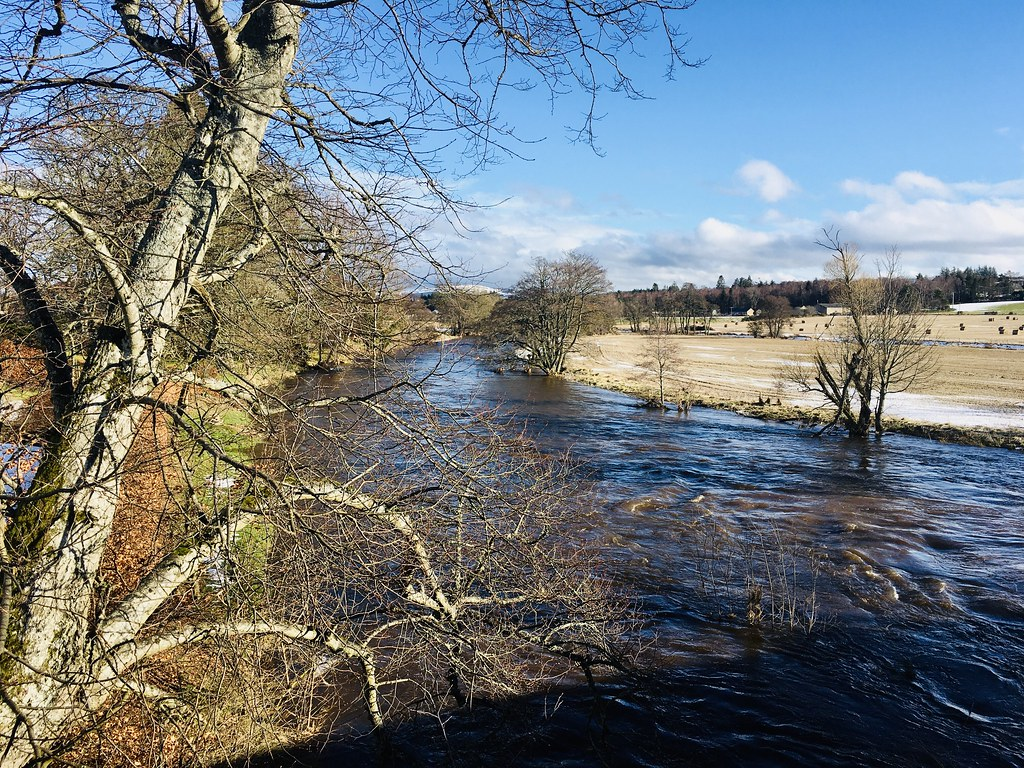 River Don from Bridge of Alford
