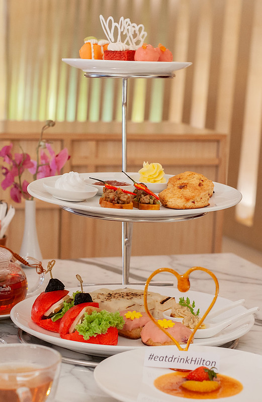 Axis Lounge, DoubleTree by Hilton Johor Bahru - High Tea for Two