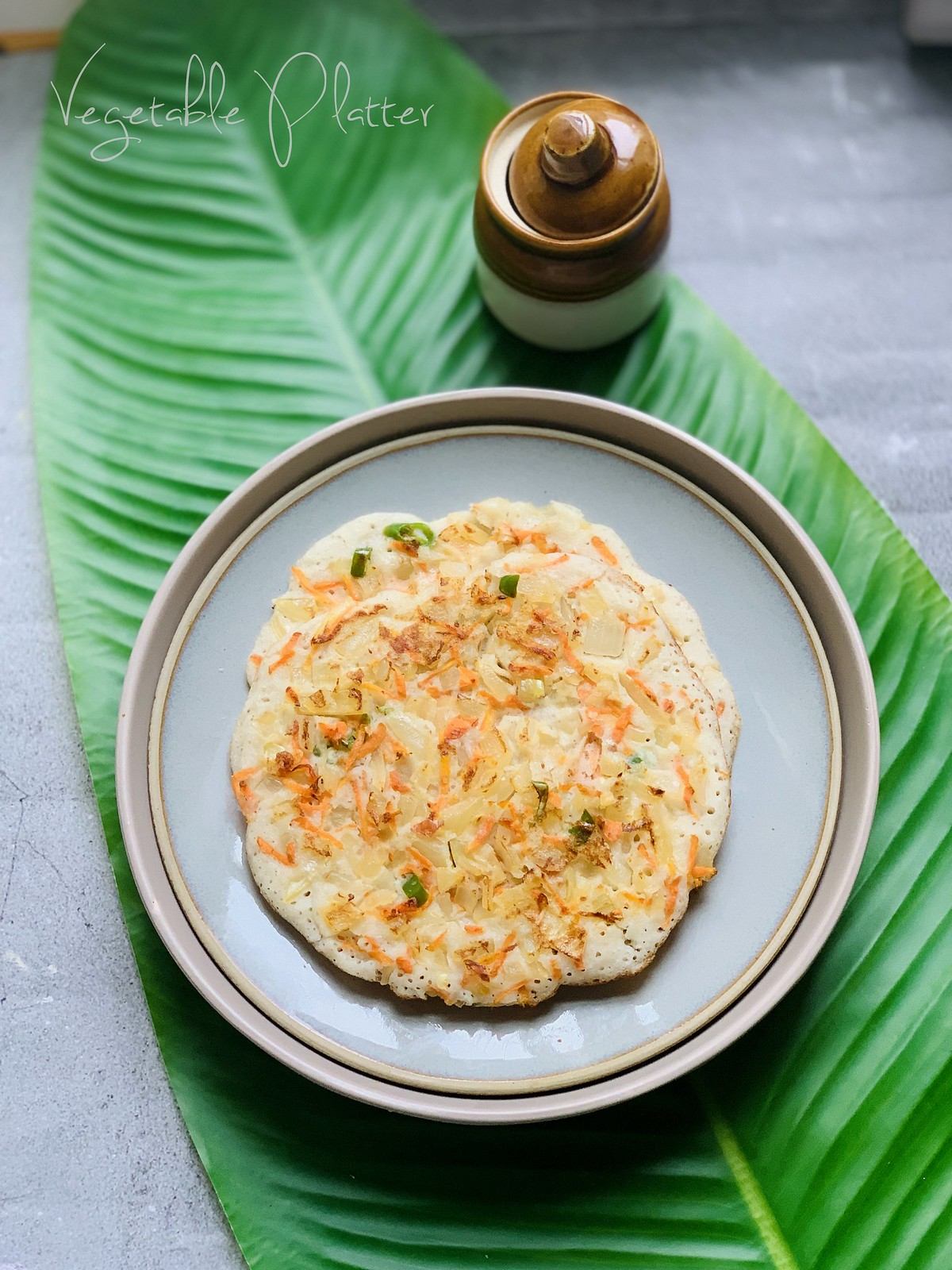 Onion Uthappam