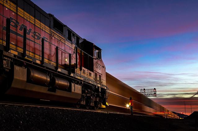 BNSF 3738 W Q LPCLAC6 12K Goffs, CA