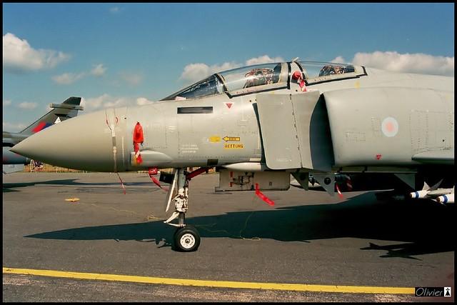 F-4 FGR Mk1, 43 sq, RAF