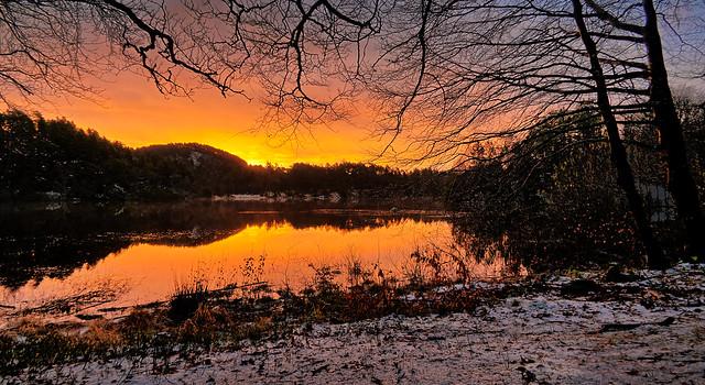 November dawn, Norway