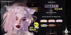 13Act - cute baah sleep mask hw