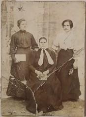 Madre de Pedro Sosnowski junto a familiares
