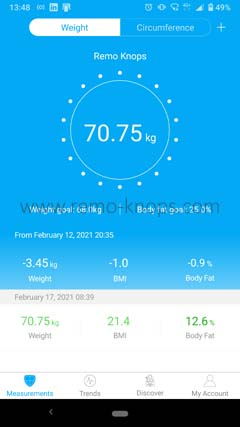 Renpho App for Google Android 134845