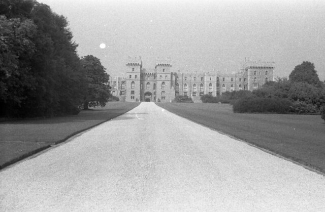 Bought negatives 07012020053 The Long Walk, Windsor Castle c1950's, Berwickshire, England