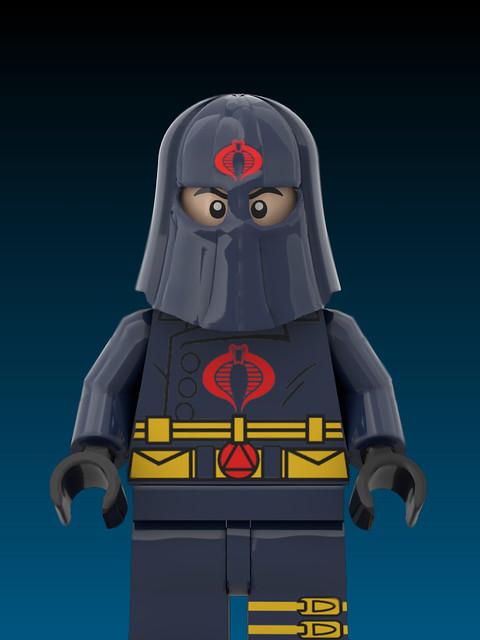 Cobra Commander ( Lego , GI Joe )