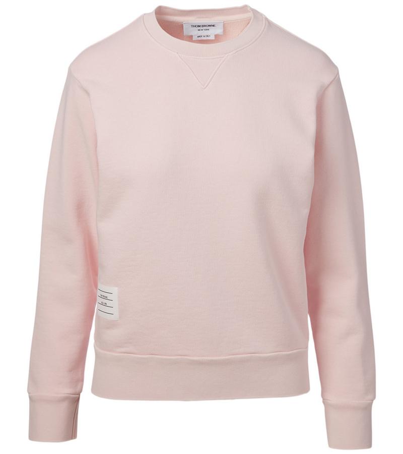 15_thom-browne-Cotton-Crewneck-Sweatshirt