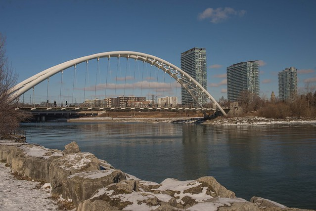 Humber Bay Arch Bridge,Toronto