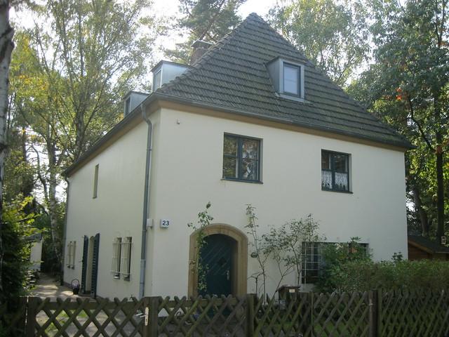 1935 Berlin Wohnhaus Elisabeth Munier von Ernst Hornig Schulzendorfer Straße 23 in 13503 Heiligensee