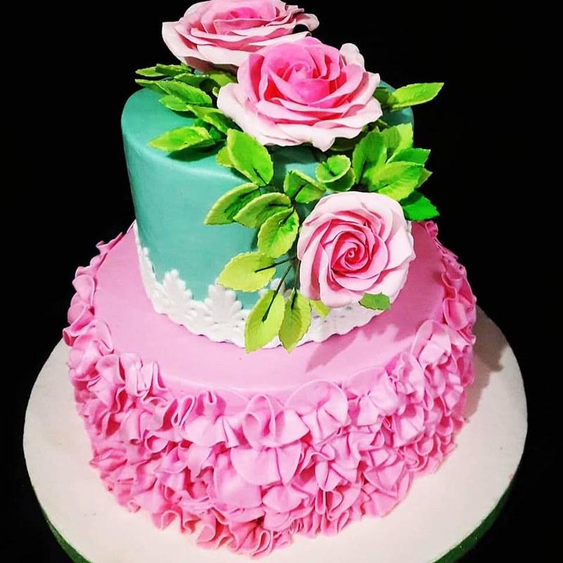 Cake by Nina's Bakery Victoria