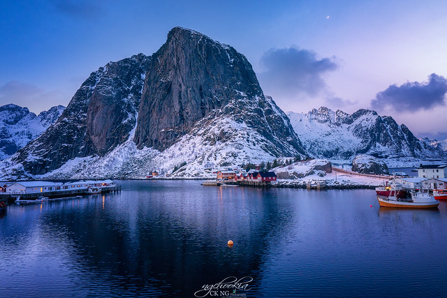 Night II Hamnøy- Norway