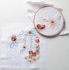 sampling pattern and stitch