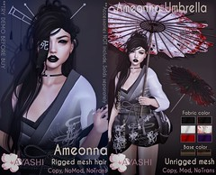 [^.^Ayashi^.^] Ameonna hair and Accessories special for KAGAMI