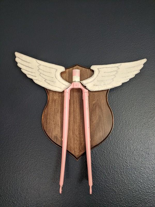 Bike Taxidermy: Flying Fork