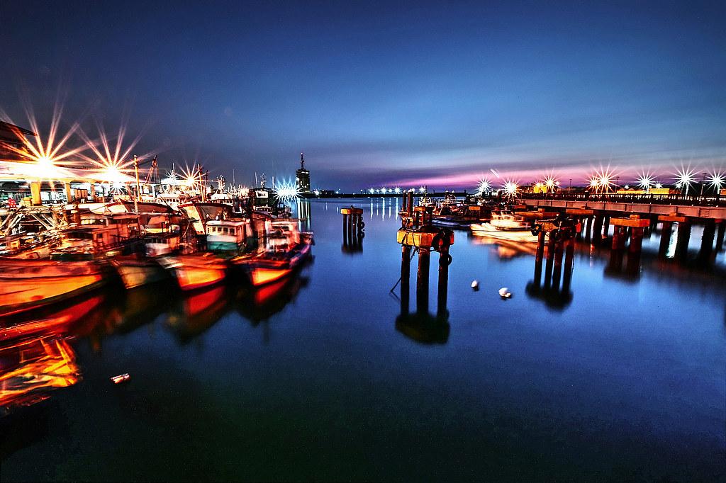 Wuqi Fishing Port, Taichung, Taiwan