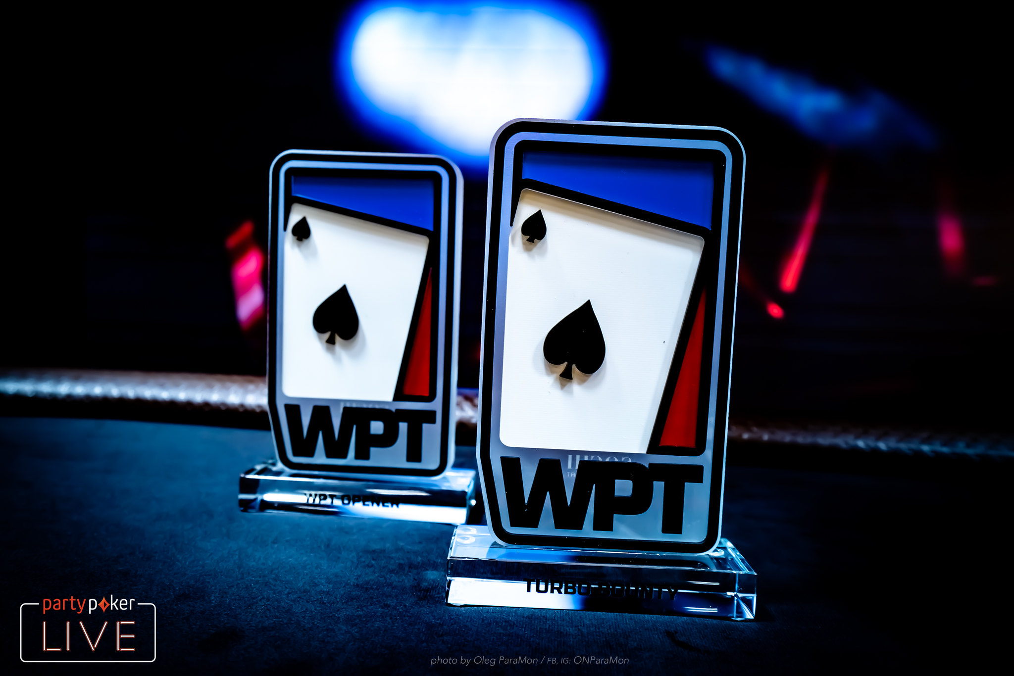 "WPT Side Event Trophies"" width="