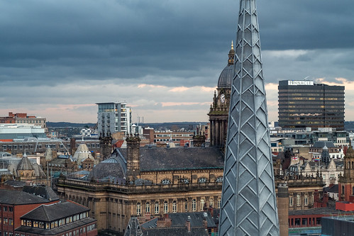 Rooftops of Leeds City Centre