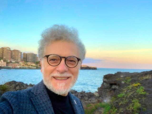 Winter Sea in Catania