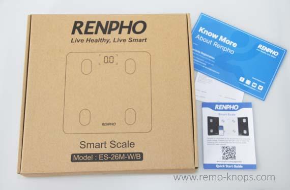 Renpho Smart Scale Fitbit TrainingPeaks 8555