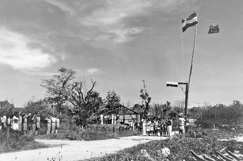 Officiële Japanse overgave op Buru (oktober 1945)
