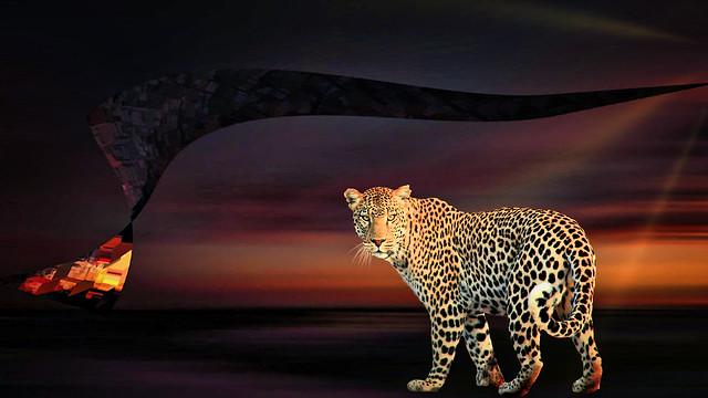 Jaguar in Twighlight Fantasy