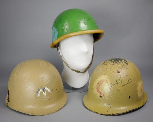 Iraqi Helmets Trio