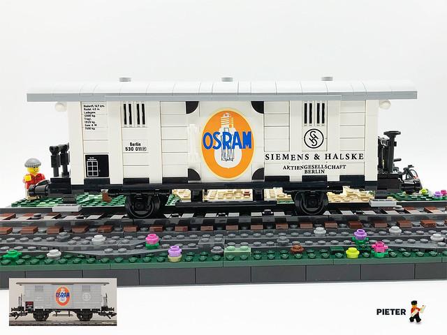 Siemens & Halske Guterwagen / boxcar