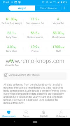 Renpho App for Google Android 134900