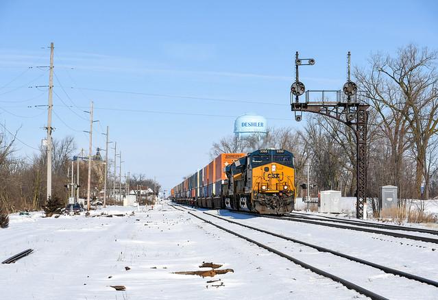 CSX Q203-06 - Deshler, Ohio