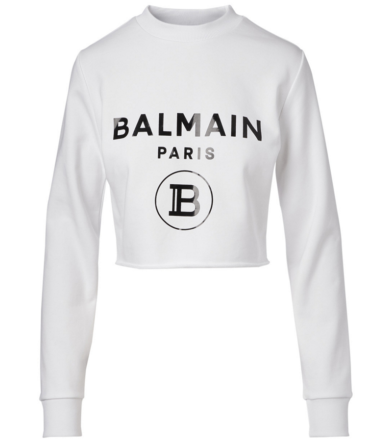 17_balmain-Cropped-Logo-Sweatshirt