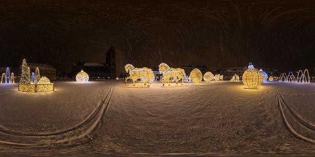 Lichterwelt im Schnee (360 x 180)