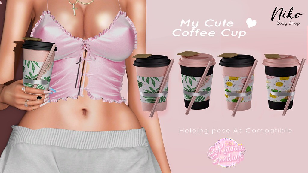 Cute Coffe Cups-Exclusive for SoKawaii Sundays 21th Feb In Mainstore