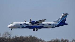 Indigo ATR72-600 (F-WWEP VT-IRA MSN1623) (19/02/2021)