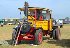 "curly42 posted a photo:	1925 Foden steam wagon ""Emily"". South Cerney Show - 4.8.18."