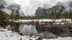 The Yosemite Valley from Valley View