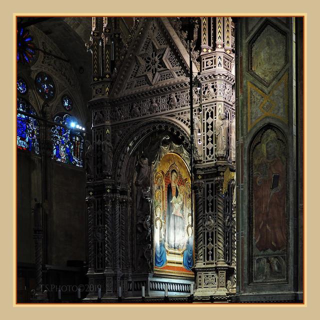 Orsanmichele Firenze , the Orcagna Tabernacle